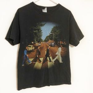 The Beatles Abbey Road graphic T-shirt